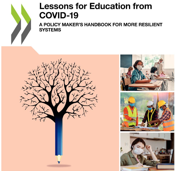 Portada del informe de la OCDE: Education Policy Outlook 2020