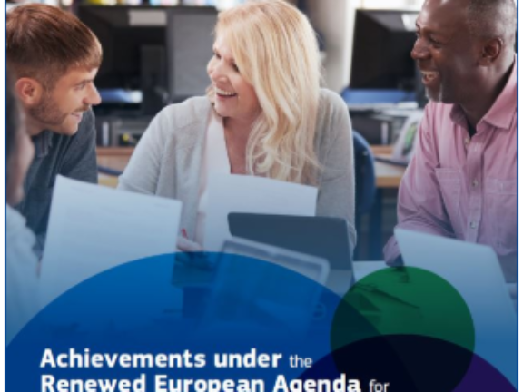 Achievements under the Renewed European Agenda for Adult Learning