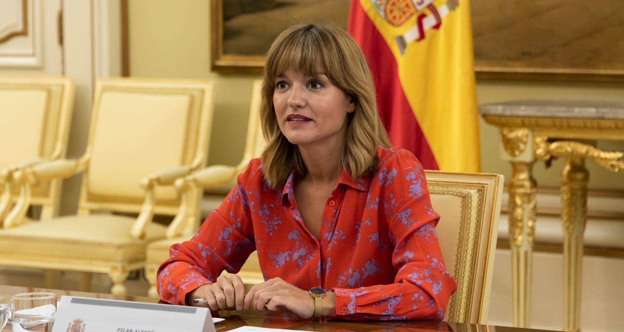 Pilar Alegría, ministra de Educación y Formación Profesional