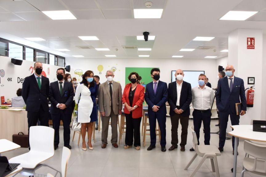 Inauguración del Aula del Futuro del MEFP