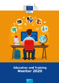 Portada de la publicación Education and Training. Monitor 2020