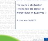 structure education systems 2008 2009