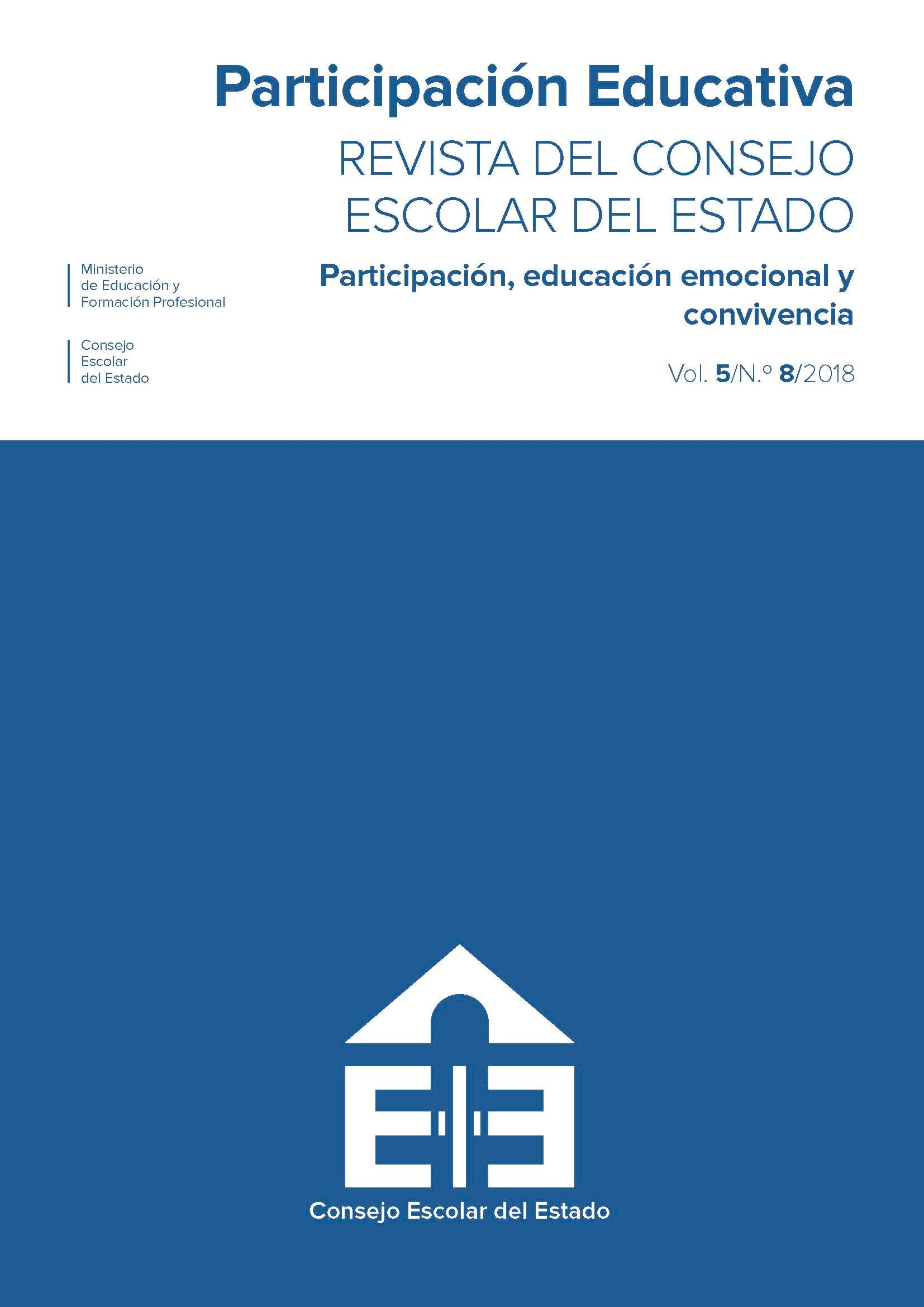 Revista de participación educativa. Número 8