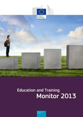 Portada Educaction and Training. Monitor 2013