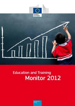 Portada Education and Training. Monitor 2012